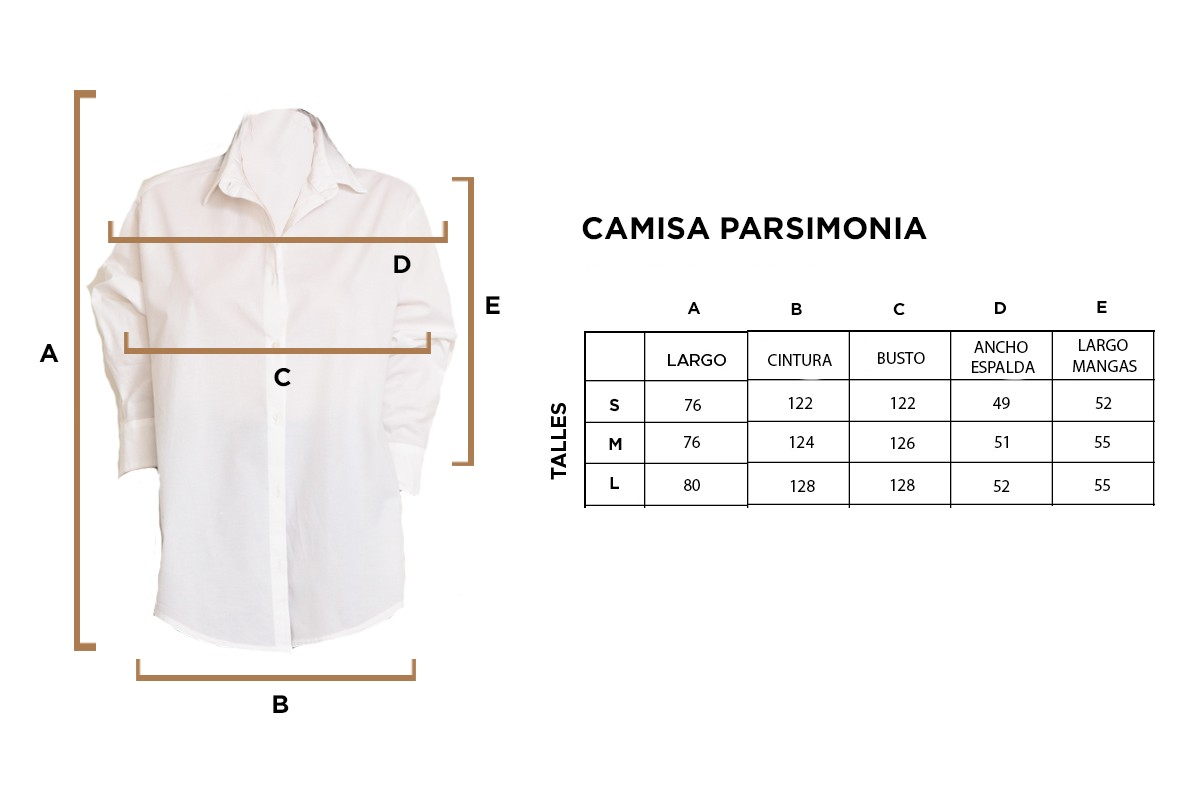 CAMISA PARSIMONIA