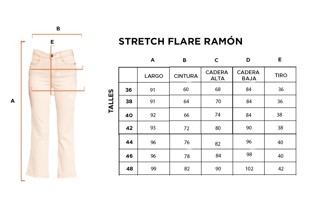 STRETCH FLARE RAMON