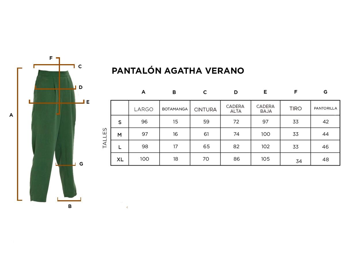 Pantalón Agatha verano