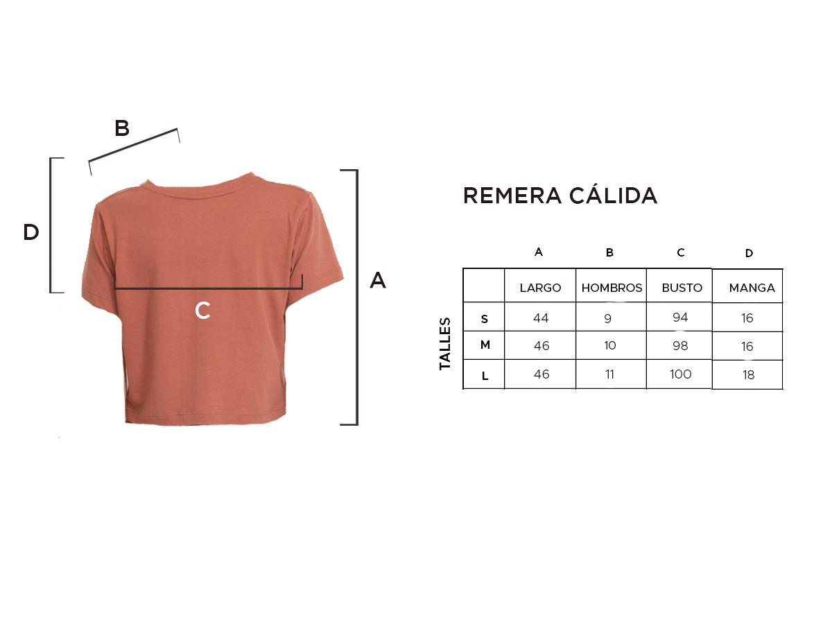 REMERA CÁLIDA
