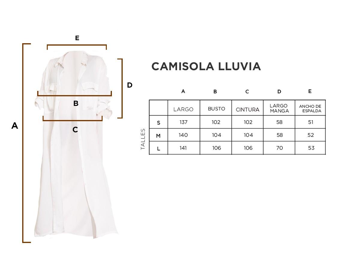 CAMISOLA LLUVIA