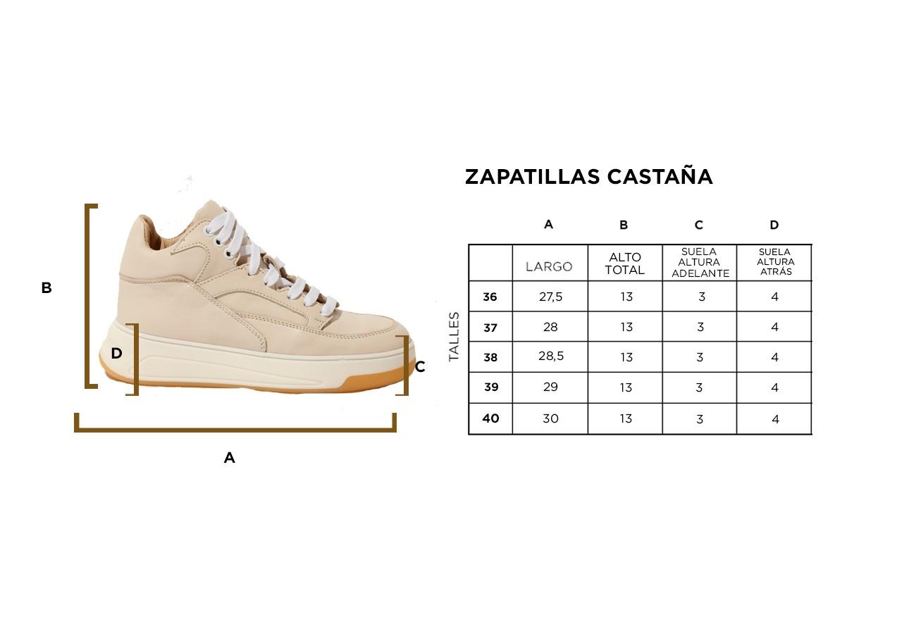 ZAPATILLAS CASTAÑA