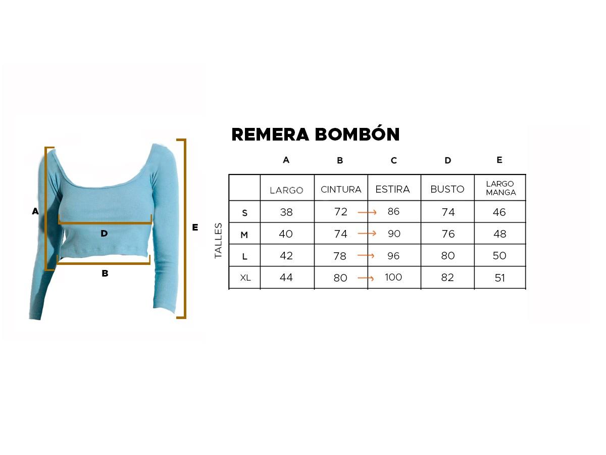 REMERA BOMBÓN
