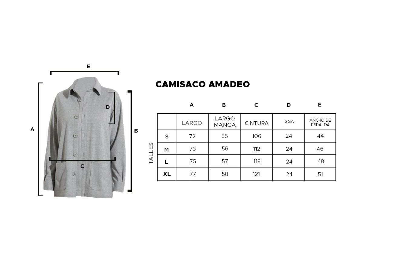 CAMISACO AMADEO