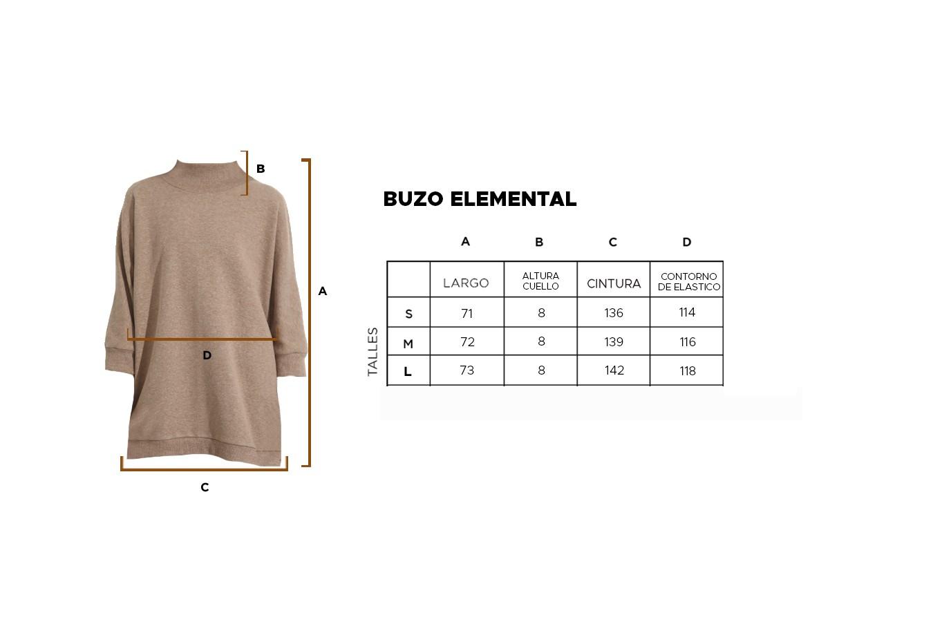 BUZO ELEMENTAL 21