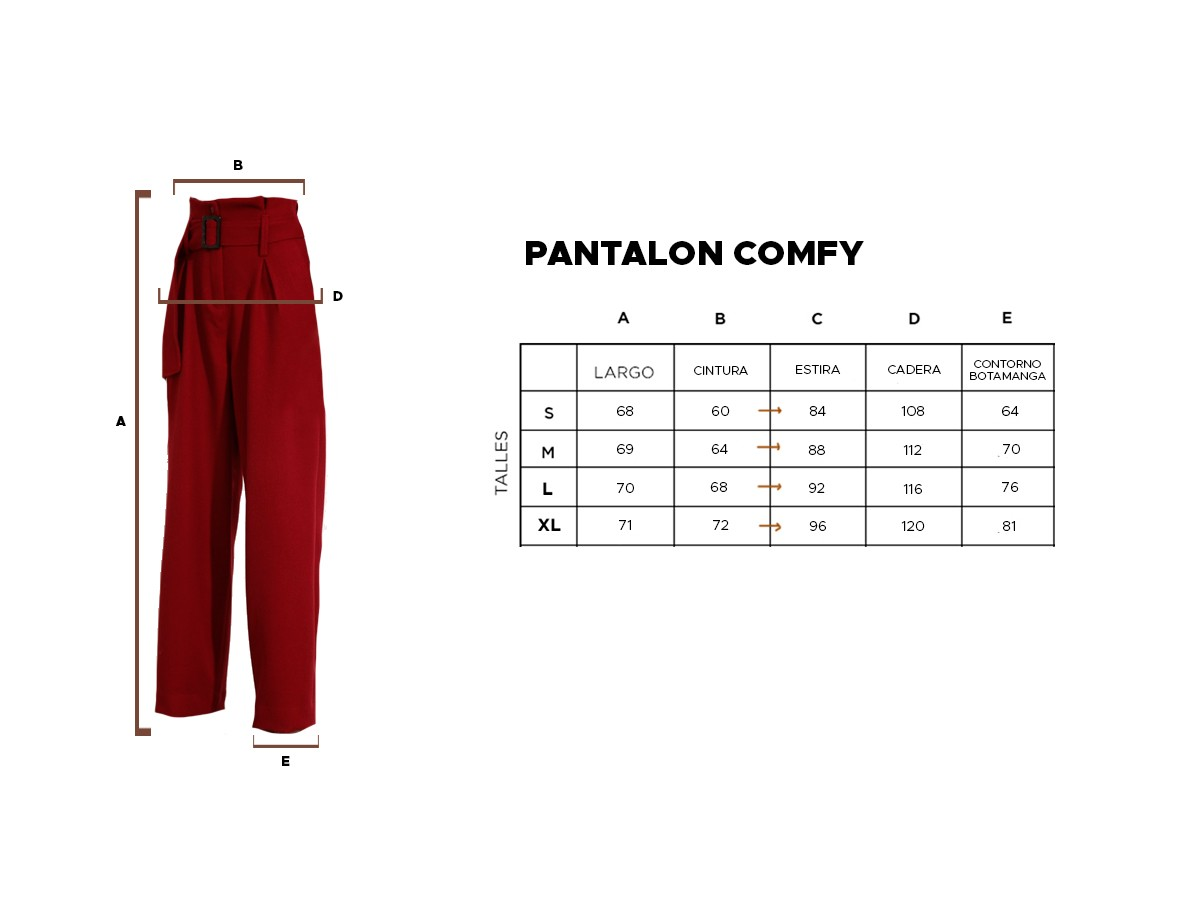 PANTALÓN COMFY