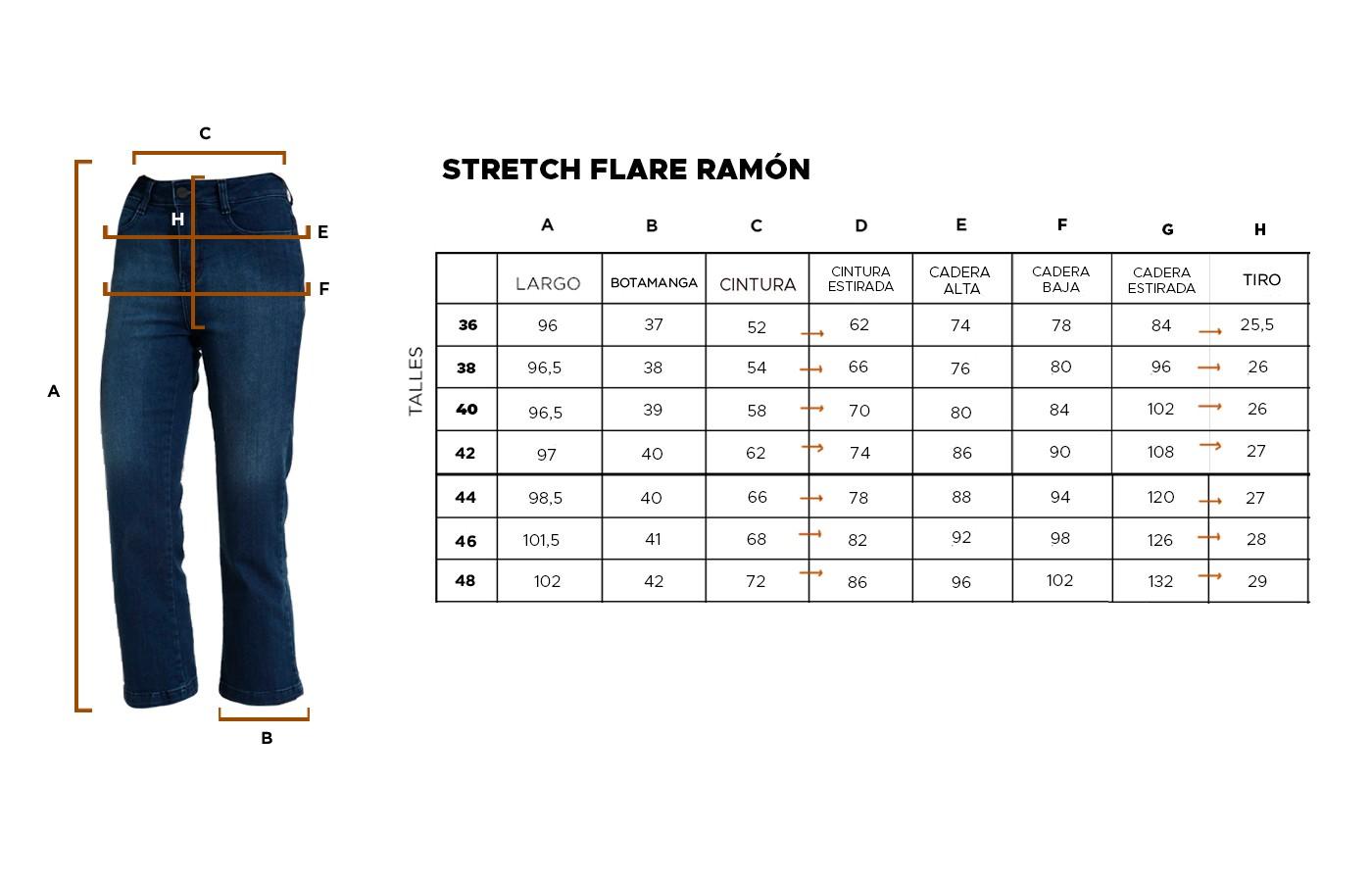 STRETCH FLARE RAMON 21