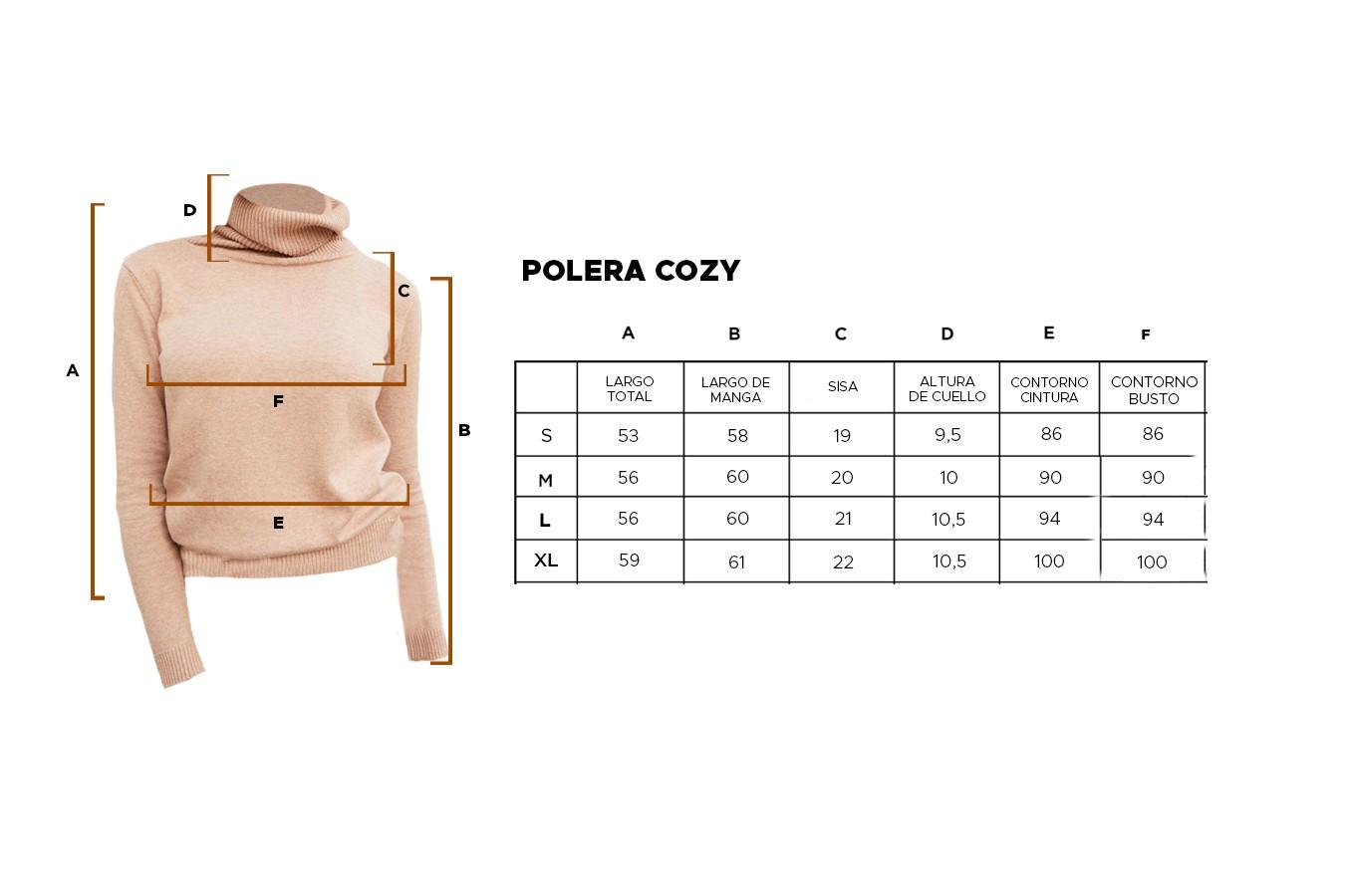 POLERA COZY
