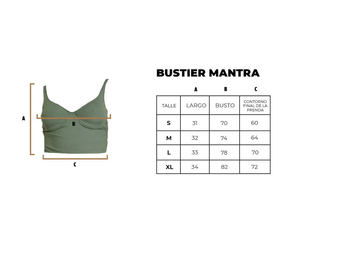 BUSTIER MANTRA