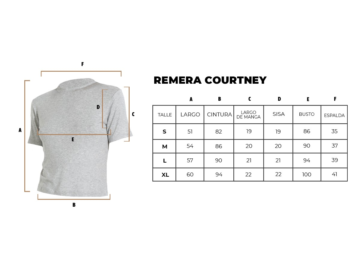 REMERA COURTNEY