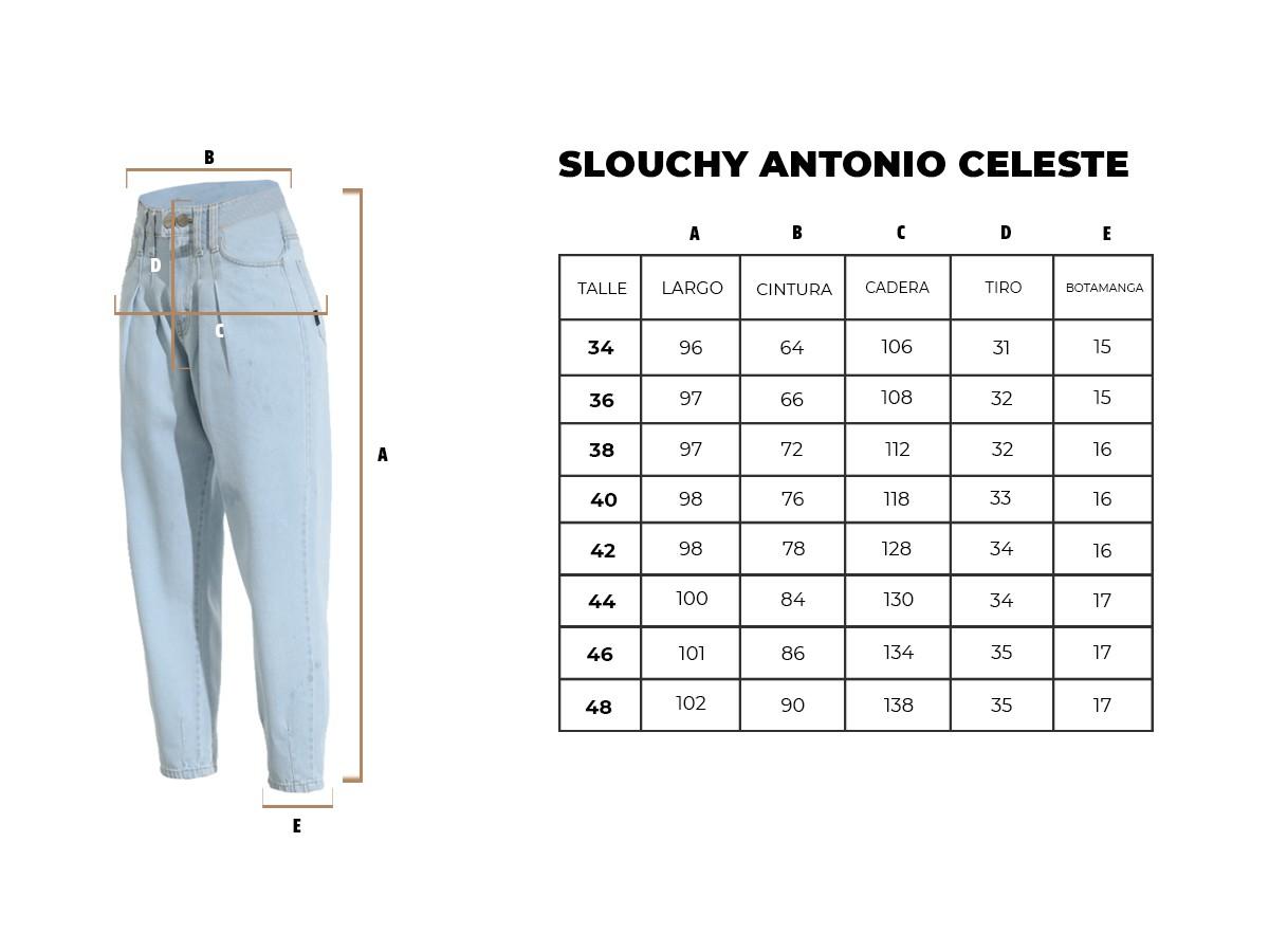 SLOUCHY ANTONIO CELESTE