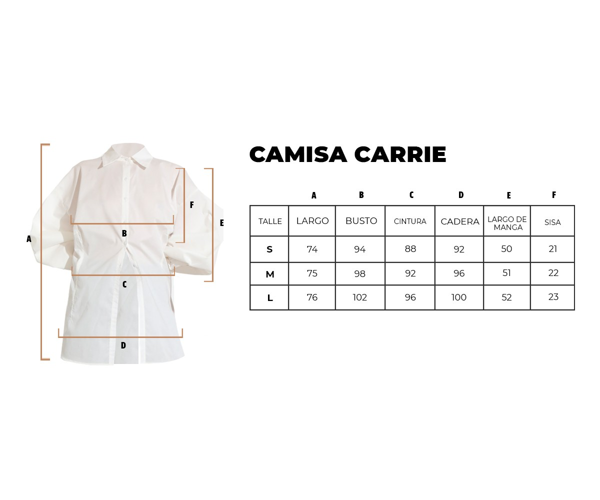 Camisa Carrie